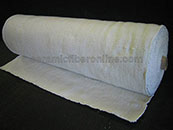 Ceramic Fiber Cloth Woven with Glass Insert Size: 0.125