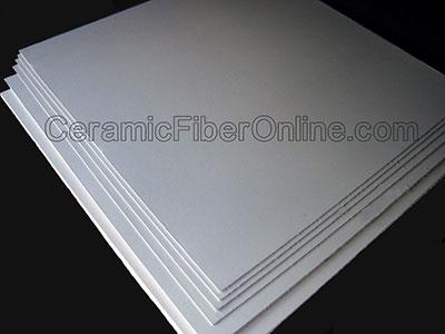 Ceramic Fiber Millboard Size: 1.5mm thick X 1400mm