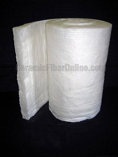 Ceramic Fiber Spun Blanket - 2600F Size: 8 lbs/cu.ft 1